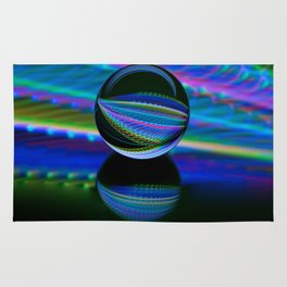All colours in the glass ball Rug