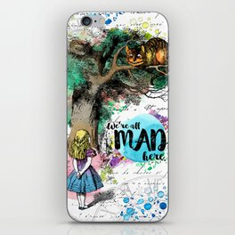 Alice in Wonderland - We're All Mad Here iPhone Skin