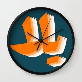 Yalla Arabic Pop Art Wall Clock