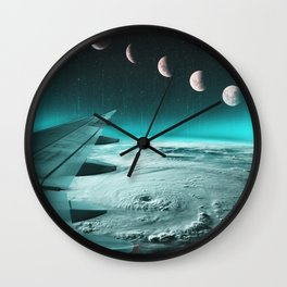 I'd risk to fall. Just to know how it feels to fly Wall Clock