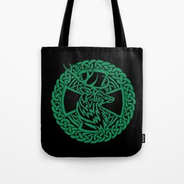 Celtic Nature Deer Tote Bag