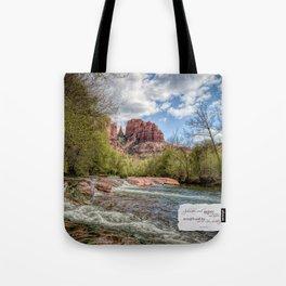 Cathedral Rock, AZ Tote Bag