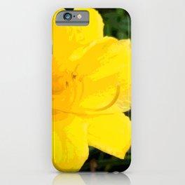 MellowYellow iPhone Case