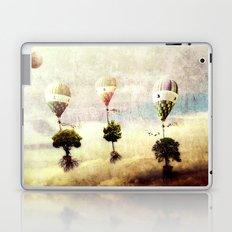 tree - air baloon Laptop & iPad Skin