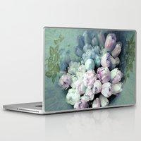 antique Laptop & iPad Skins featuring Tulips Antique by Joke Vermeer