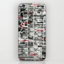 Runner Request (P/D3 Glitch Collage Studies) iPhone Skin