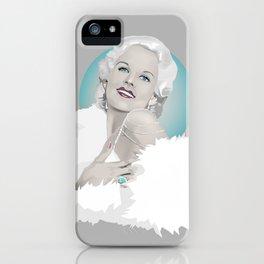Platinum Blonde - Jean Harlow iPhone Case