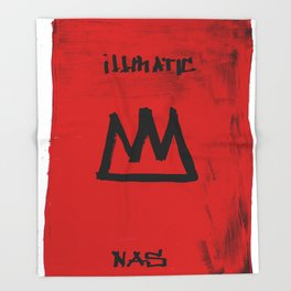 KiNG iLLMATIC NaS Throw Blanket