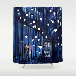 Doctor Who Journey Shower Curtain