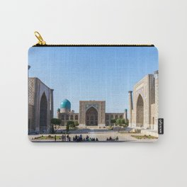Registan square in Samarkand Carry-All Pouch
