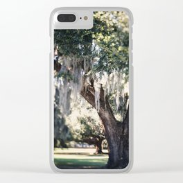 A New Orlean's Day Dream Clear iPhone Case