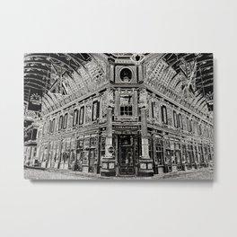 Leadenhall Market Art Metal Print