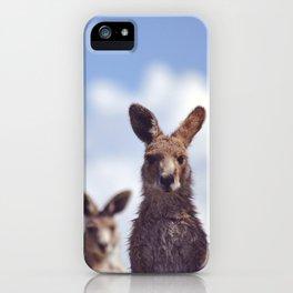 I See You Kangaroo iPhone Case
