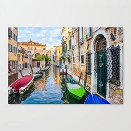 Watery Streets Venice, Italy Canvas Print