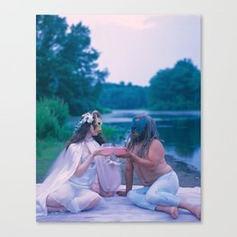2 of Cups Canvas Print
