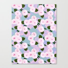 The Camellia Theory Canvas Print