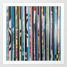 STRIPES19 Art Print