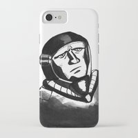 spaceman iPhone & iPod Cases featuring SpaceMan by Juicebox Farley