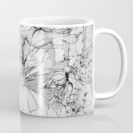 Lady in Peonies Coffee Mug