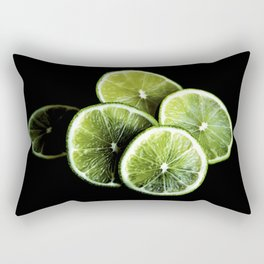 lemon lima Rectangular Pillow