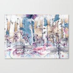 The Tea Migration Canvas Print