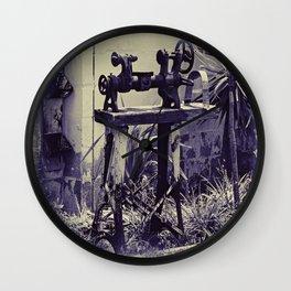 Antiquated Machinery Wall Clock