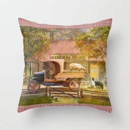 Stay ! Throw Pillow