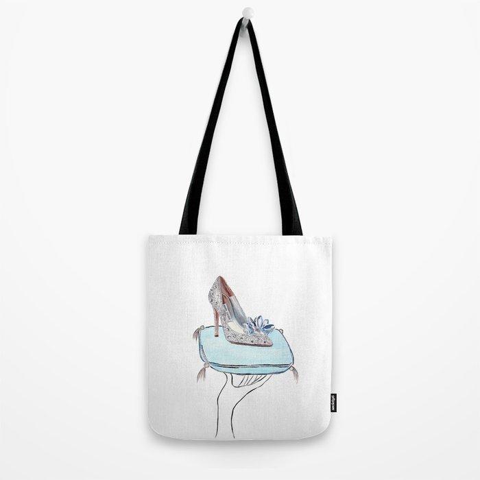 Cinderella slipper Tote Bag