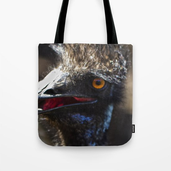 Don't Mess With the Emu! Tote Bag