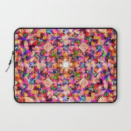 Colorful Digital Abstract Laptop Sleeve