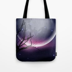 Face of the Moon Tote Bag