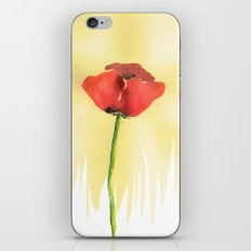 The Poppy iPhone & iPod Skin