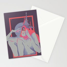 Trapped Princess Stationery Cards