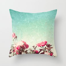 Textured Garden Throw Pillow