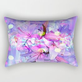 LILY IN LILAC AND LIGHT Rectangular Pillow