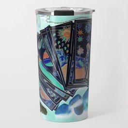 Tarot Card Mystical Gypsy Fortune Teller Fantasy Travel Mug