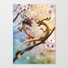 Hu & Tong Canvas Print