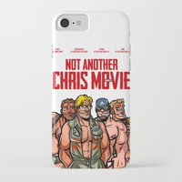 chris evans iPhone & iPod Cases featuring Not Another Chris Movie by Randy Meeks