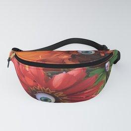 Garden of Oculary Eye Flowers Fanny Pack