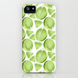 Juicy Lime with vitamin C iPhone Case