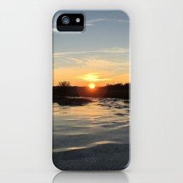 The Ice glances iPhone Case
