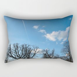 Blue Sky over Richmond Park Rectangular Pillow