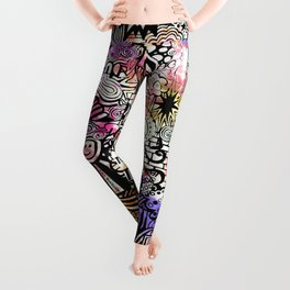 ironic chaos Leggings
