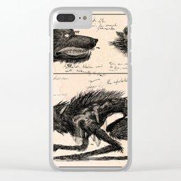 Flegellum de Bestia: Scourge Beast Clear iPhone Case