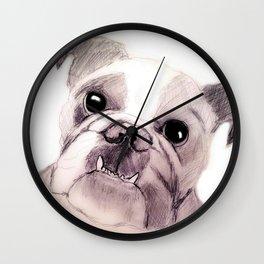 Bully Bull Dog Wall Clock