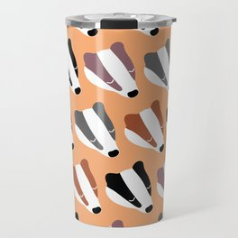 The Badgers Travel Mug