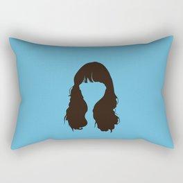 Zooey Deschanel Rectangular Pillow