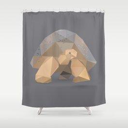 Giant Tortoise.  Shower Curtain