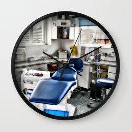 Dentists Chair Wall Clock