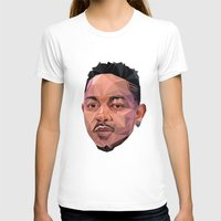kendrick lamar T-shirts featuring Kendrick by REEZ